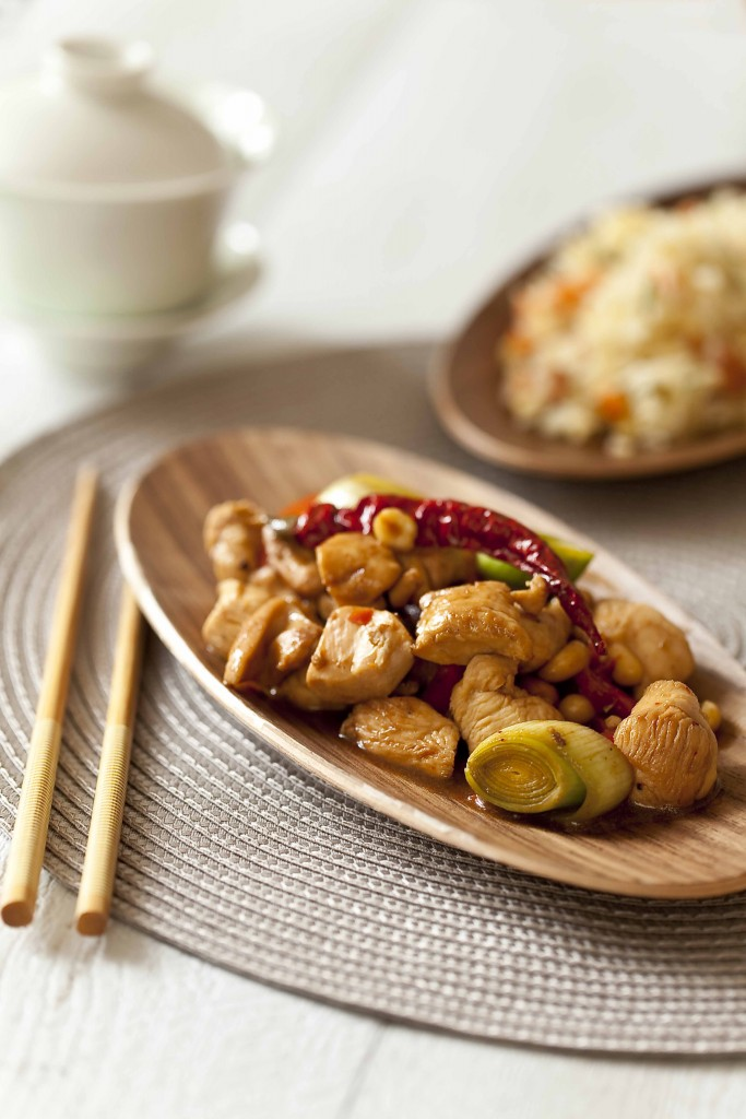 Poulet gong bao, recette chinoise